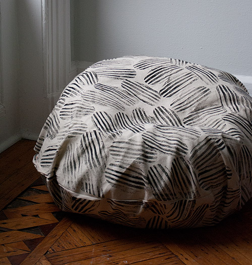 how to sew bean bag chair movie dorm diy beanbag makeover design sponge 11 that s it now marvel at your suddenly beautiful