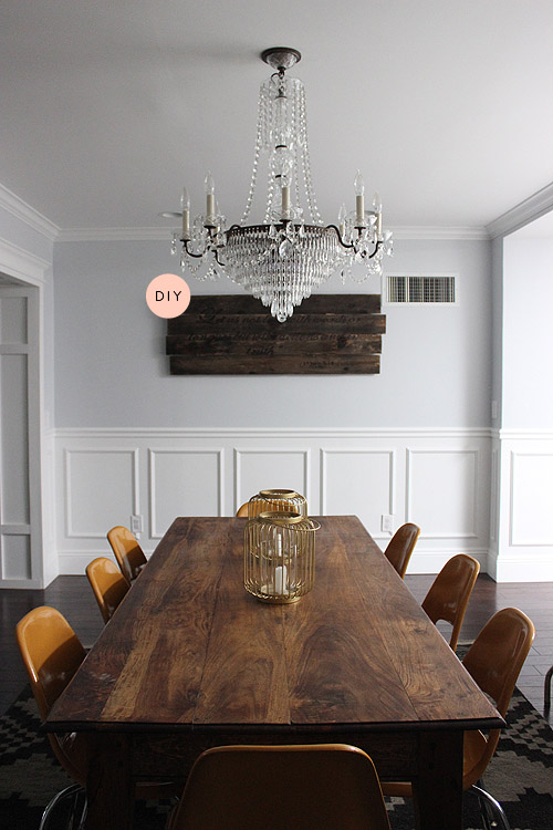 Before  After A Dreamy Dining Room With a Budgeteer