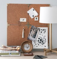 DIY Project: Campaign Style Cork Board  Design*Sponge
