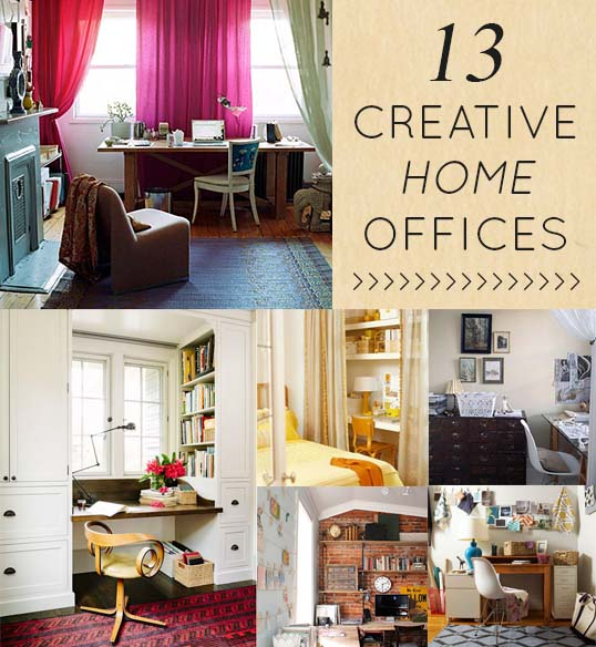 13 Creative  Clever Home Offices  DesignSponge