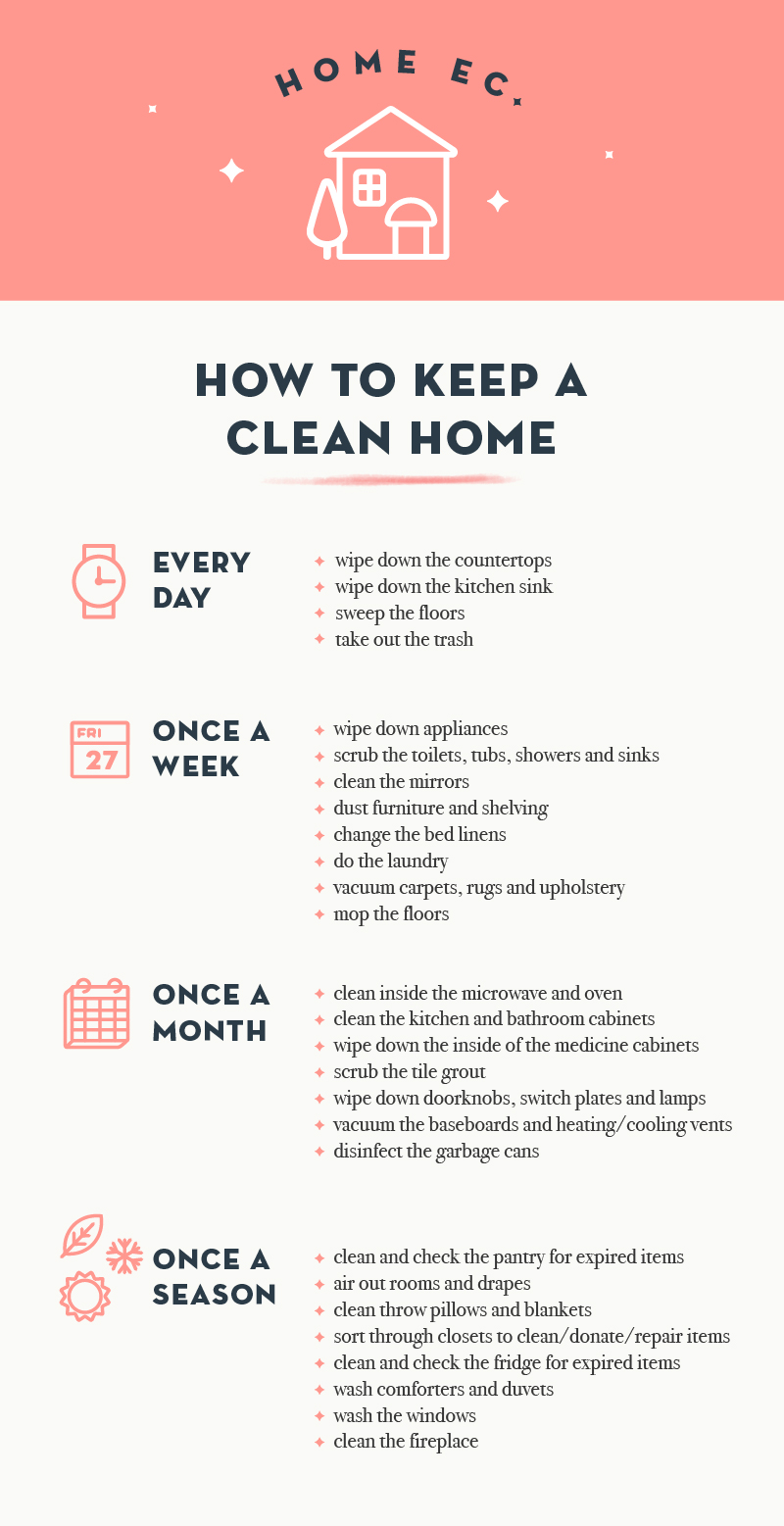 Home Ec How To Keep A Clean Home