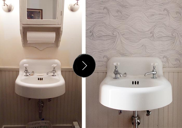 Our Downstairs Bathroom Makeover