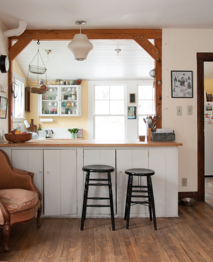 Two Artists Find Home In A Charm Filled 1900 Farmhouse