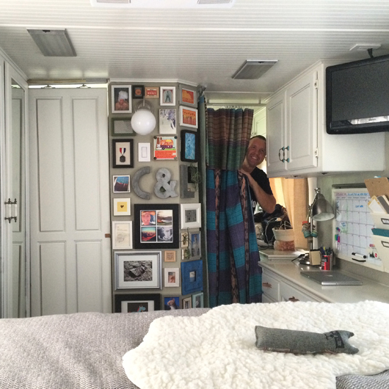 Before  After An RV to Call Home  DesignSponge