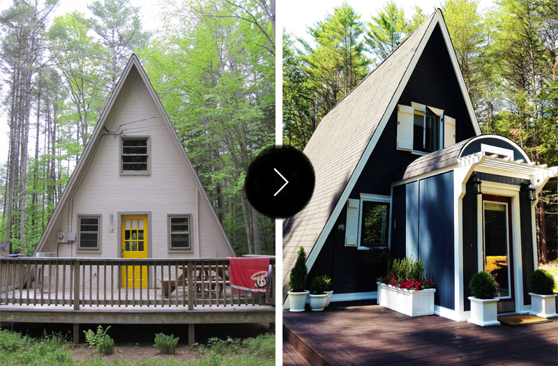 Before & After An A Frame Cottage Gets An A Renovation – Design
