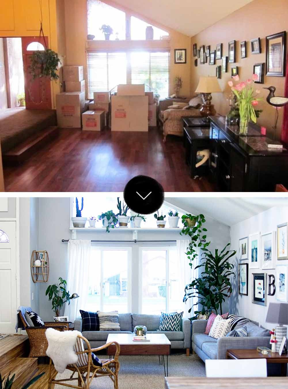 jcpenny sofas and armchairs ireland before & after: a modern-bohemian fixer-upper in southern ...