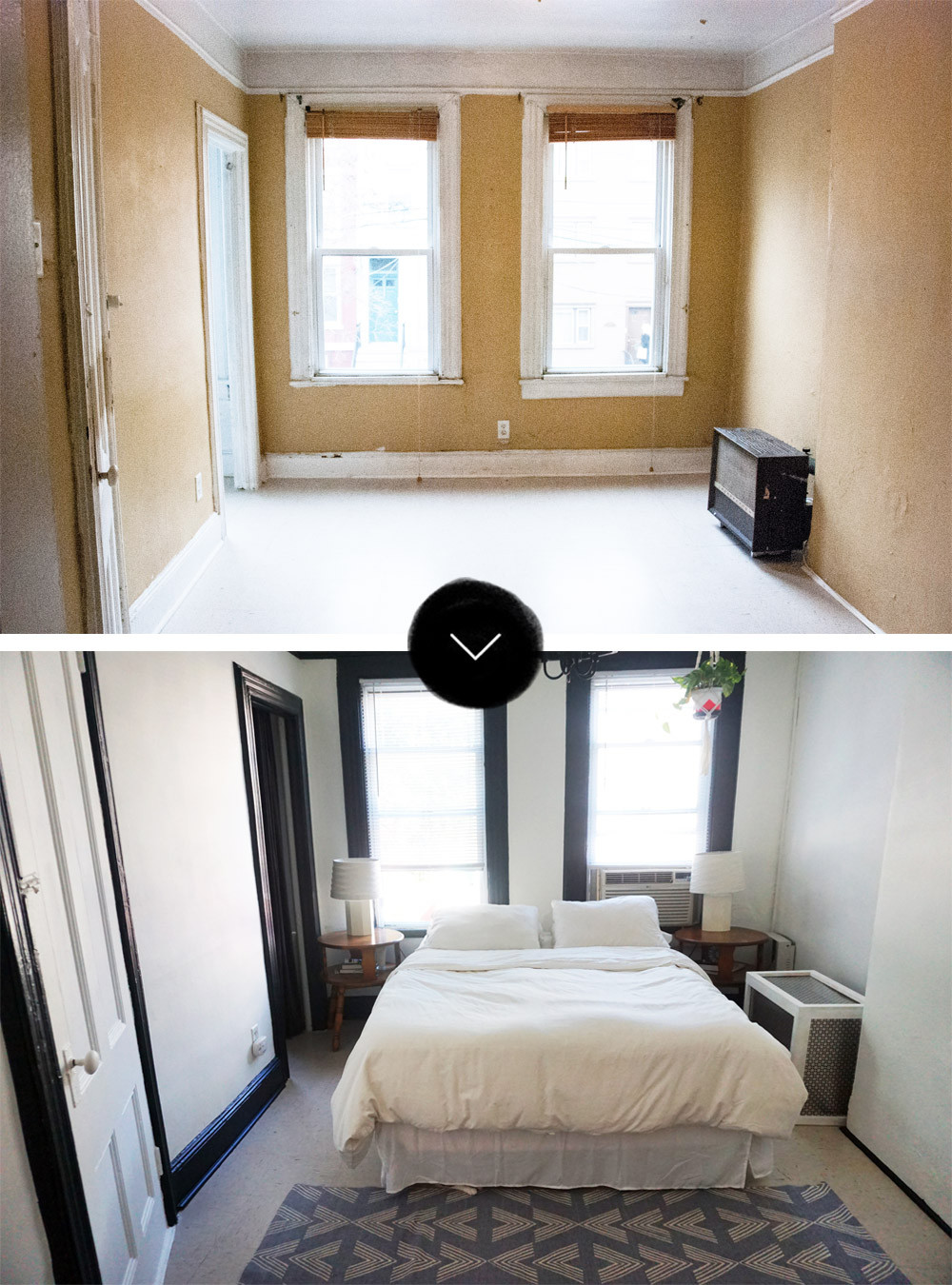 Before Amp After A Hoboken Row House Apartment Design Sponge