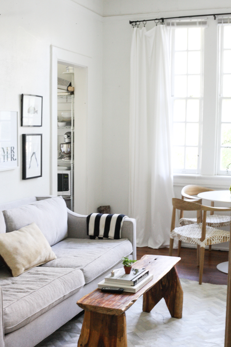 Small Space Living In New Orleans Garden District
