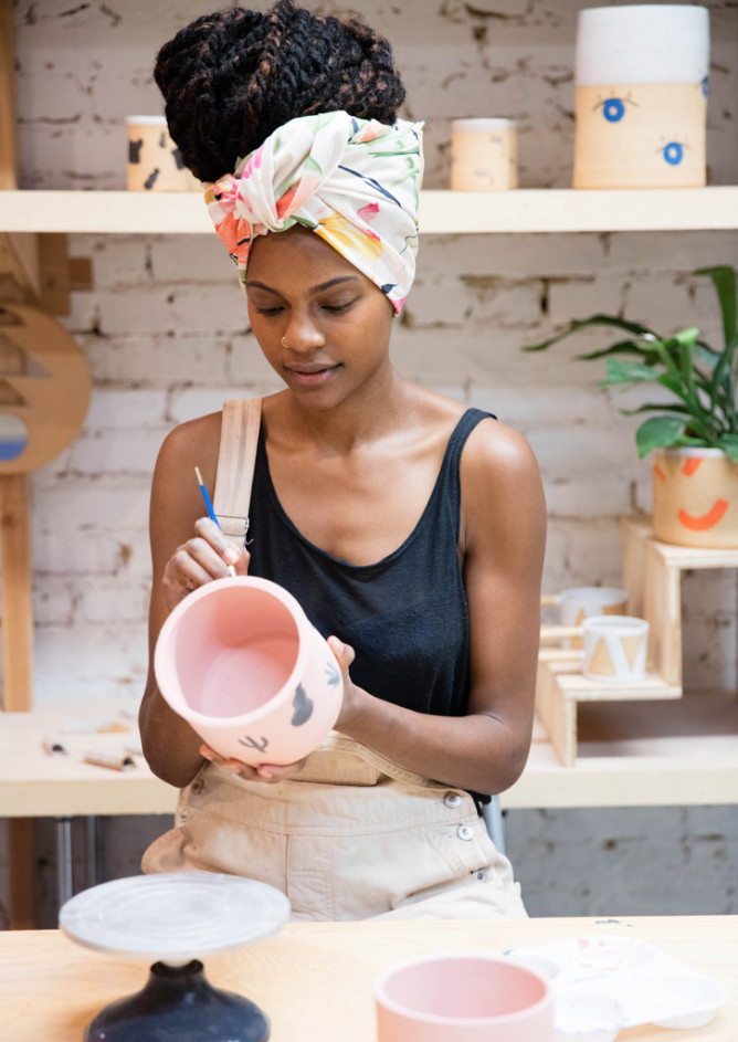 Studio Tour: Kenesha Sneed of Tactile Matter