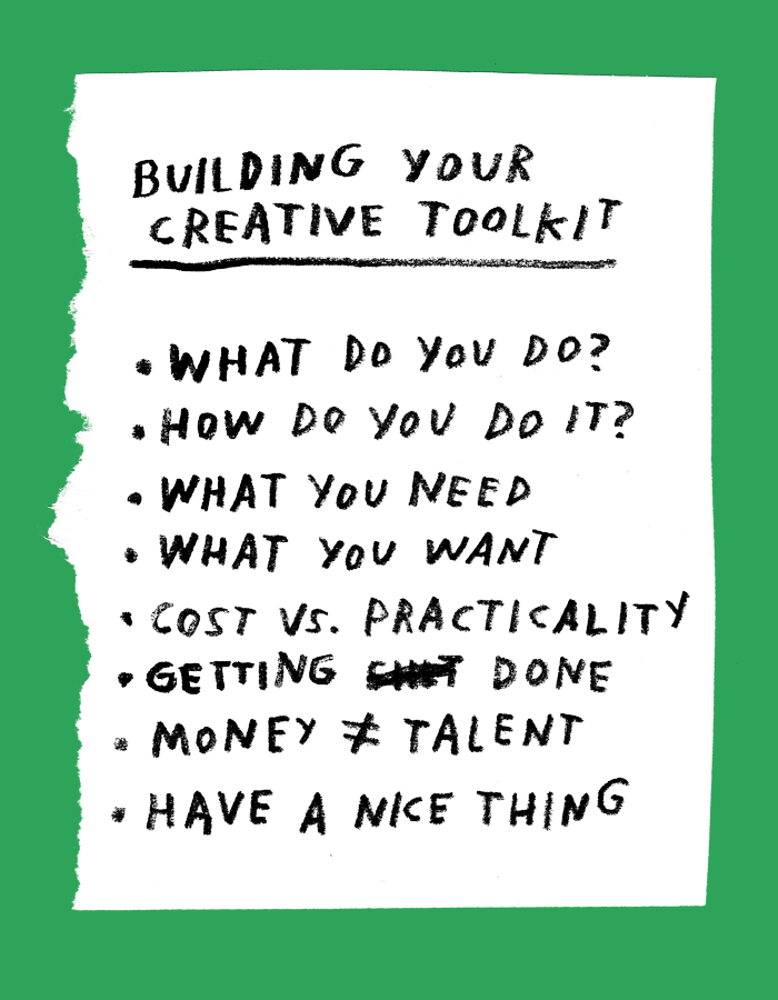 Building Your Creative Toolkit