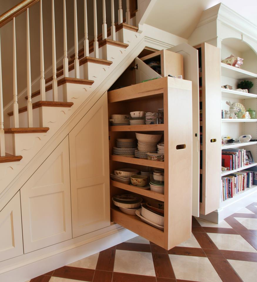 12 Storage Ideas For Under Stairs DesignSponge