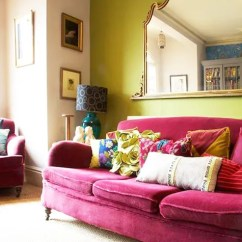 Pink Sofas Bianca Sofa Jennifer Convertibles 12 Times A Made The Room Design Sponge On