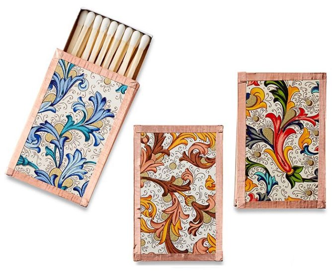 9 Decorative Matchbooks for Fall