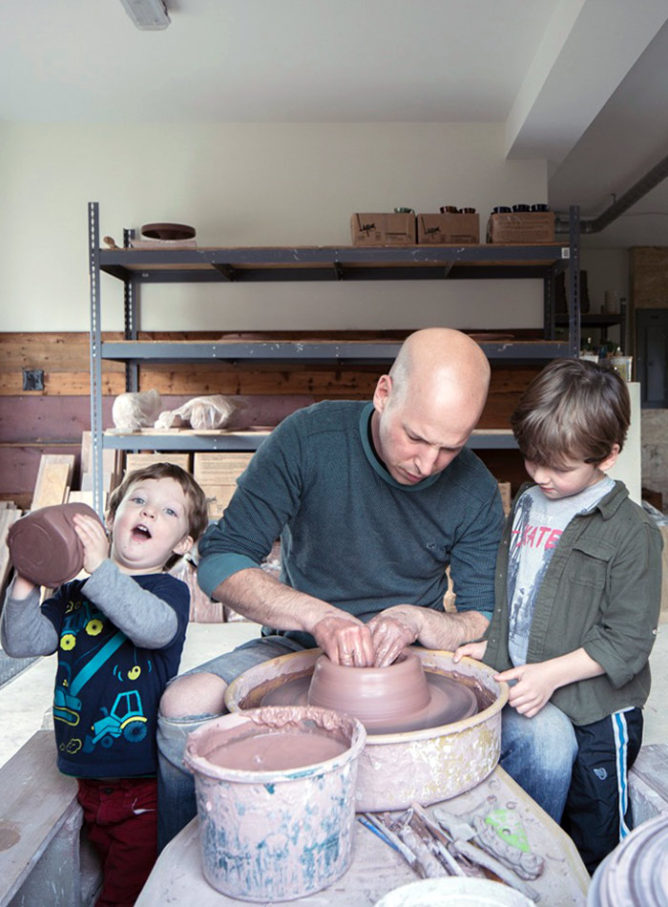 Studio Tour: Jeremy Ayers Pottery