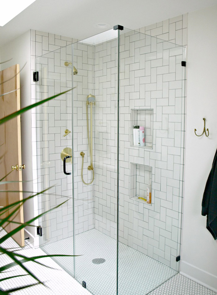 Before  After A Modern WheelchairAccessible Bathroom