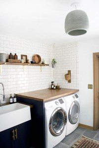 Before & After: A Modern Laundry Room Makeover for an ...