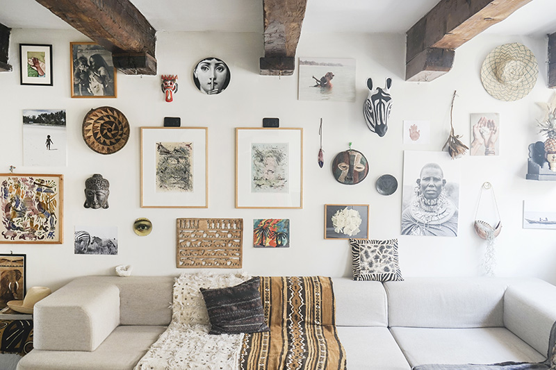 Manons-Home-Tour-for-DesignSponge-Gallery-Wall