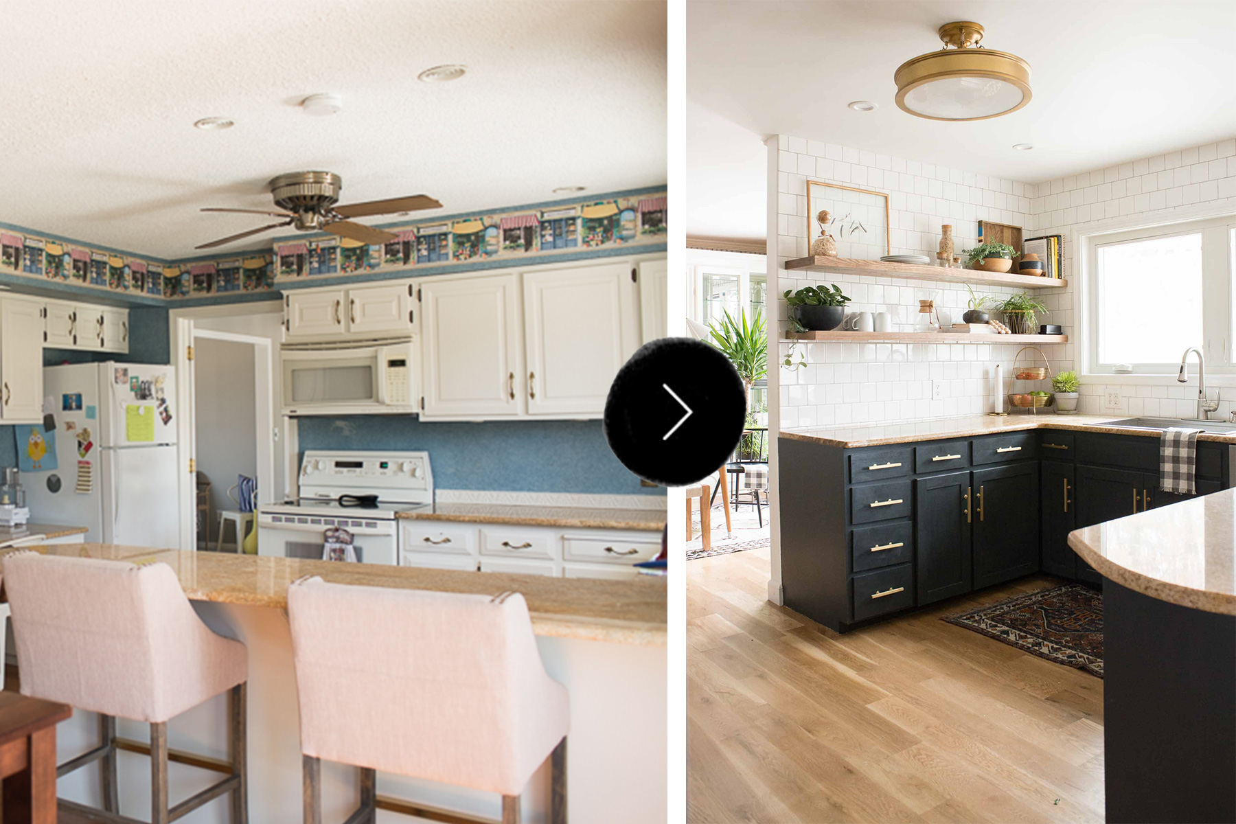 Before & After A Budget Conscious Kitchen And Dining Room Makeover