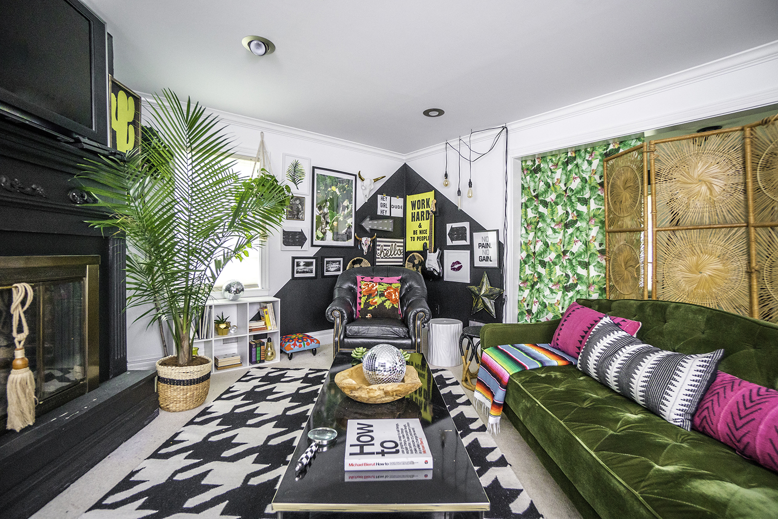 An Eclectic Home for an Energetic Family in Indiana via Design*Sponge