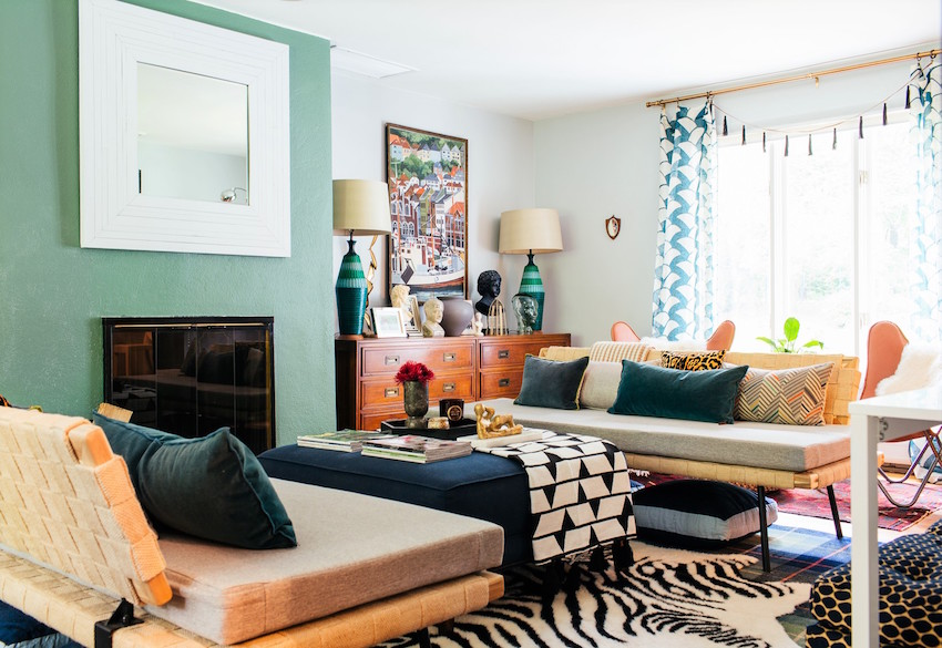 A Familys Eclectic Style Transforms a Mid
