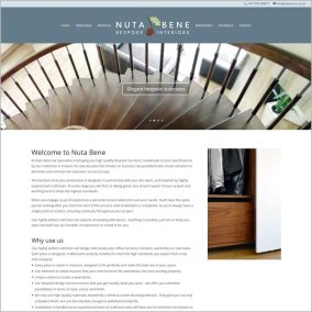 Nuta Bene website home page