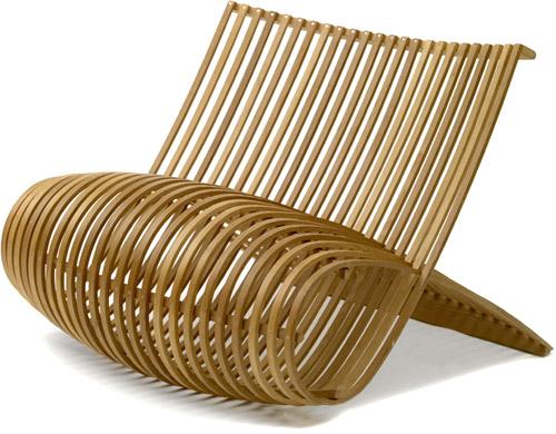 Wooden chair Marc Newson  Designstoelenorg