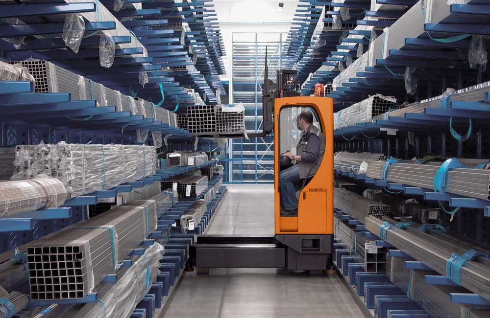 Sideloaders For Handling Extrusions Design Storage