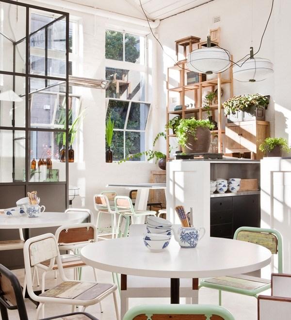 David's Restaurant Designed by Hecker Guthrie
