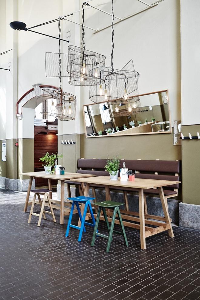 #Restaurant Story, Old Market Hall / Design - Joanna Laajisto / Photo | Design Studio 210 #interiordesign
