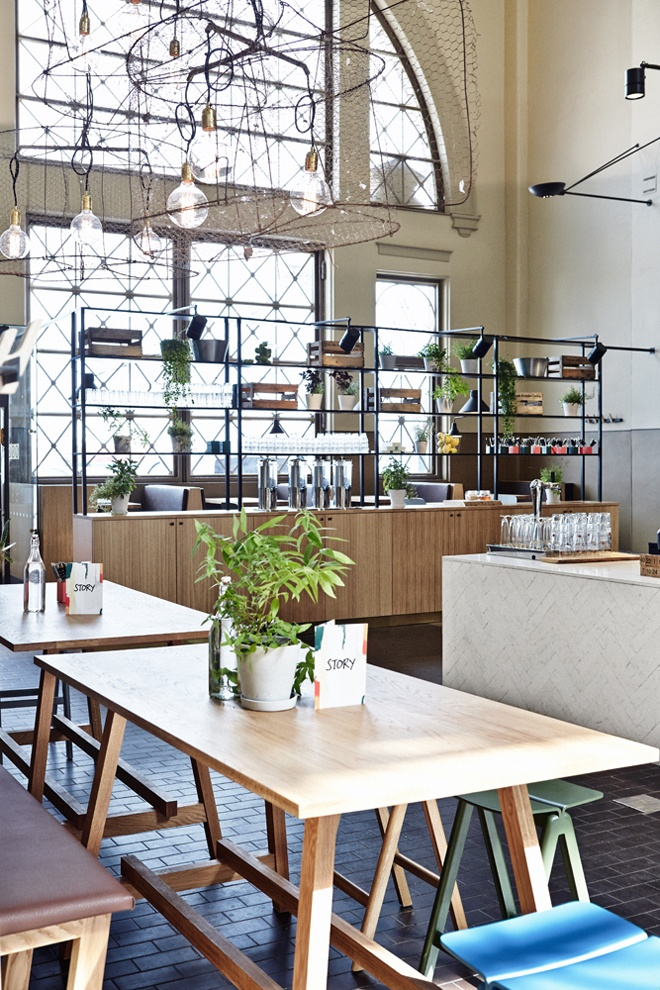 #Restaurant Story, Old Market Hall / Design - Joanna Laajisto / Photo | Design Studio 210 #interiordesign