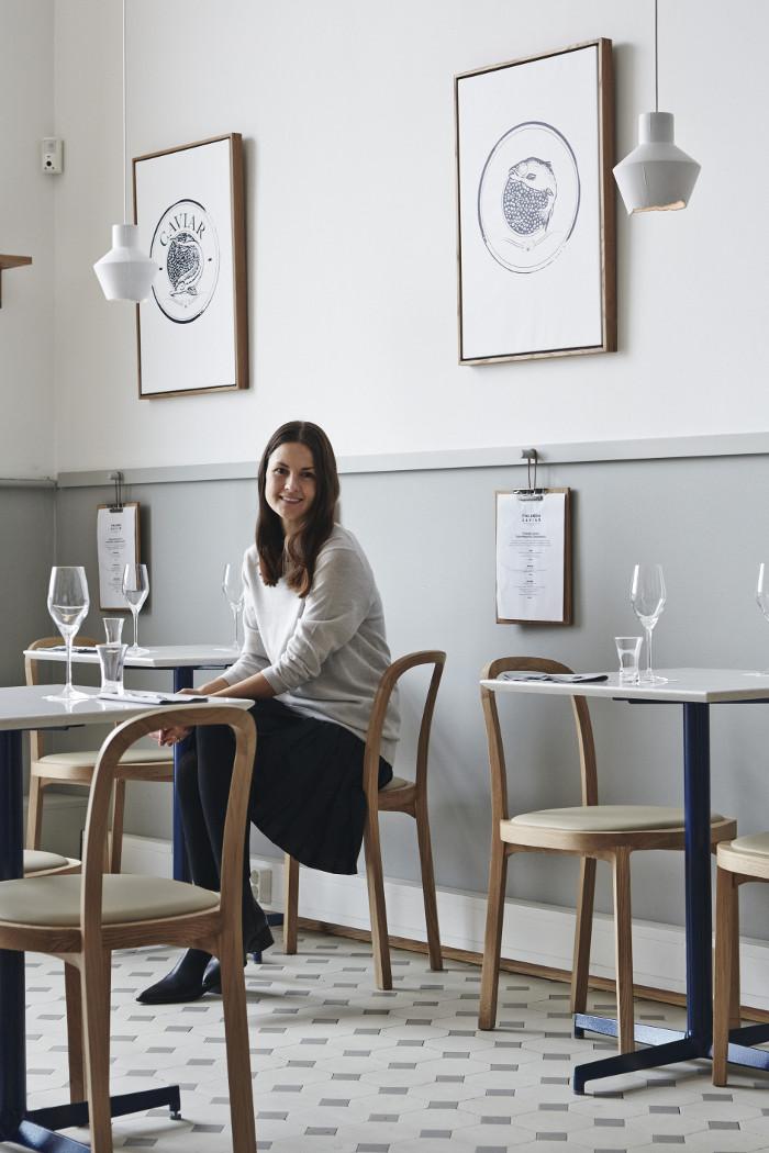 Caviar Restaurant Design in Helsinki by Joanna Laajisto Via Design Studio 210