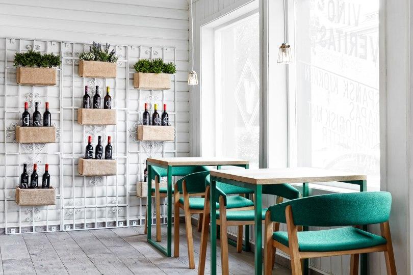 Design Restaurant Vino Veritas Masquespacio