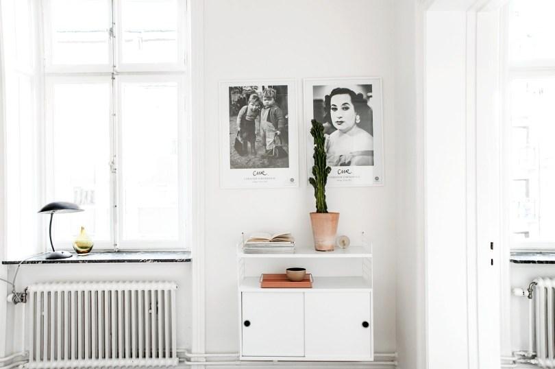 Swedish pastel interior design apartment