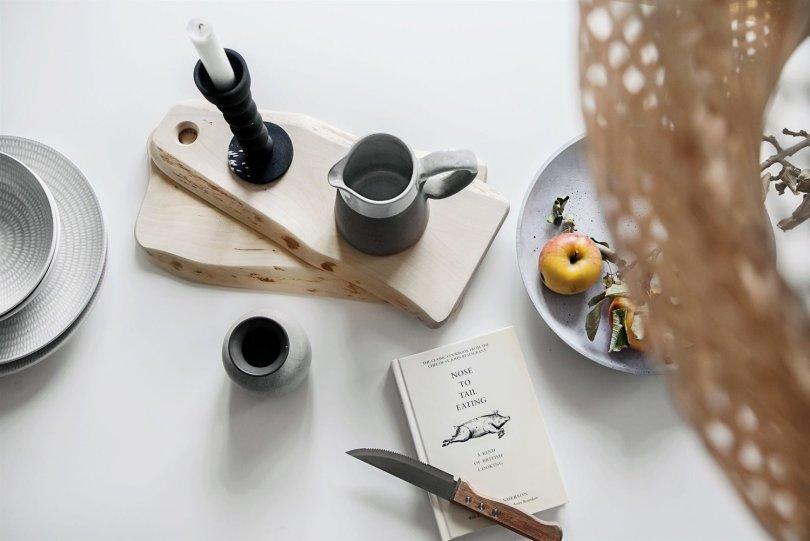 Scandinavian table stilleben - Fantastic Frank via Design Studio 210