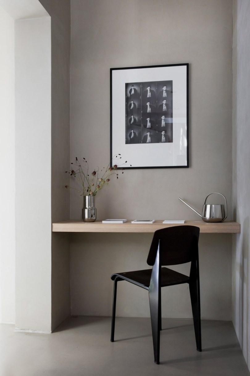 Kinfolk office design desk nook by Norm Architects via Design Studio 210
