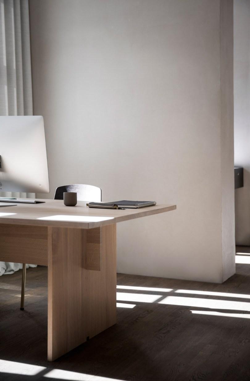 Kinfolk office design desk area by Norm Architects via Design Studio 210