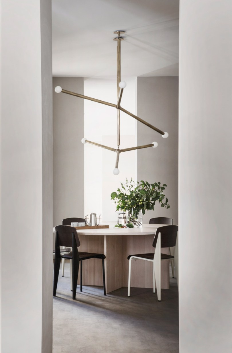 Kinfolk office design - dining room by Norm Architects via Design Studio 210