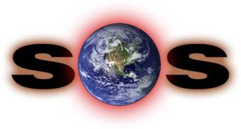 Logo for the group Climate SOS - http://www.climatesos.org