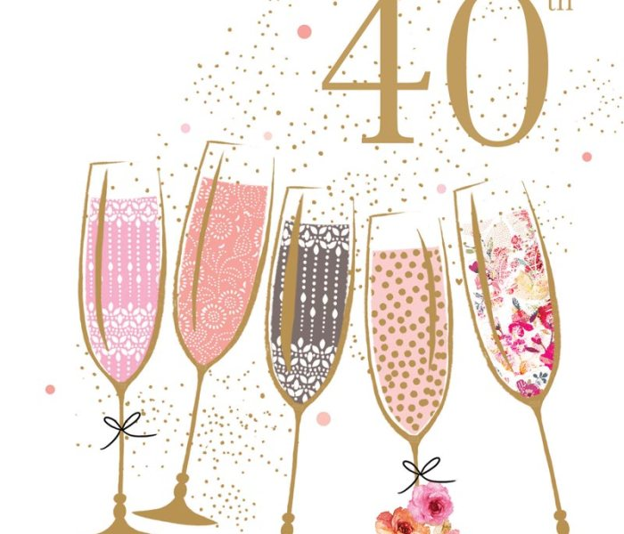 My 40th and 40 Things I am Grateful for!