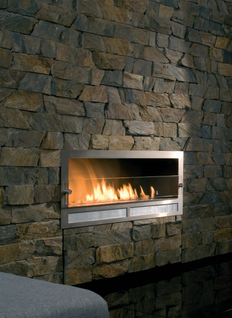 Architectural Fireplaces  no chimney ethanol fireplace Ribbon Fire by Digifire  DesignToDesign