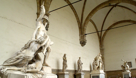 Florence statues