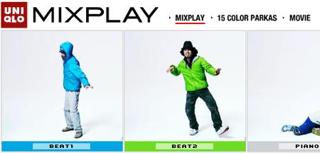 uniqlo japan mixplay