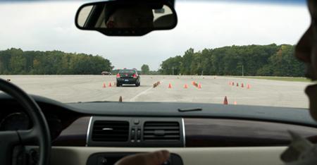 GM test drive detroit course