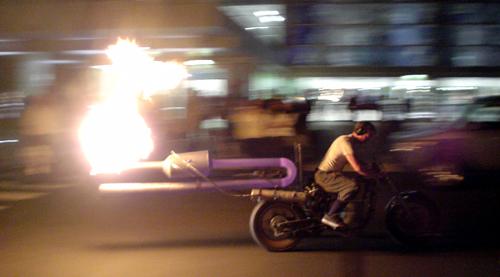 gadgetoff 2007 jet rocket bike