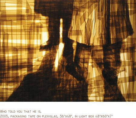 mark khaisman tape art