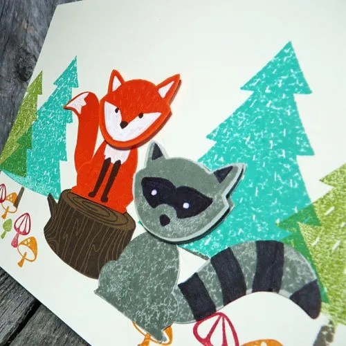 craft a card with minimal stamping supplies