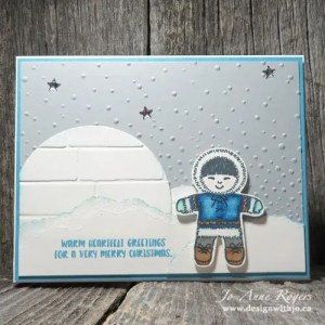 cute stampin blends coloured Christmas cards