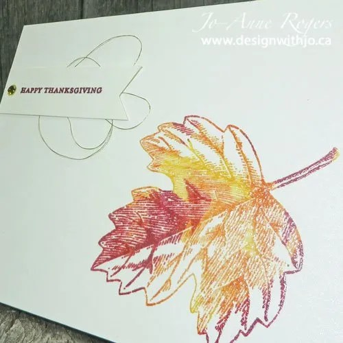 make a last minute Thanksgiving card