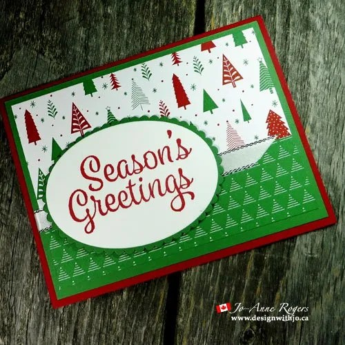 Classy christmas patterned paper greeting cards design with jo classy christmas patterned paper greeting cards m4hsunfo