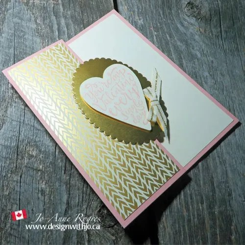 happy Valentines Day handmade card